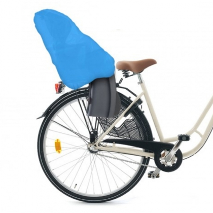 Regnskydd för cykelbarnstolar