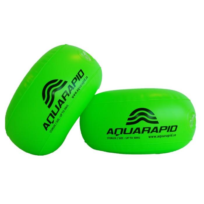 Aquarapid Aquaring – armpuffar med innering av skimplast. Passar barn från 6 månaders ålder och upp till 30 kg.