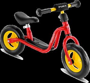Puky springcykel i rött