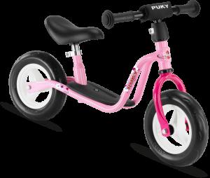 Puky springcykel i rosa