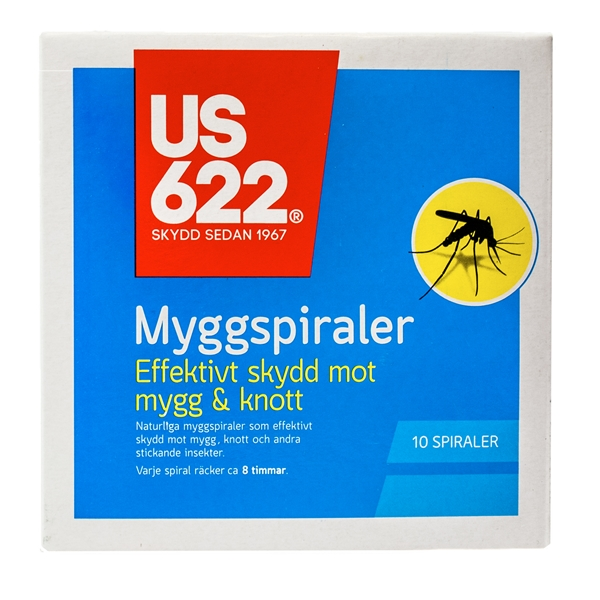 US 622 Myggspiraler