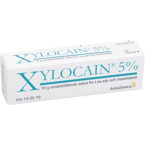 Xylocain lokalbedövande salva