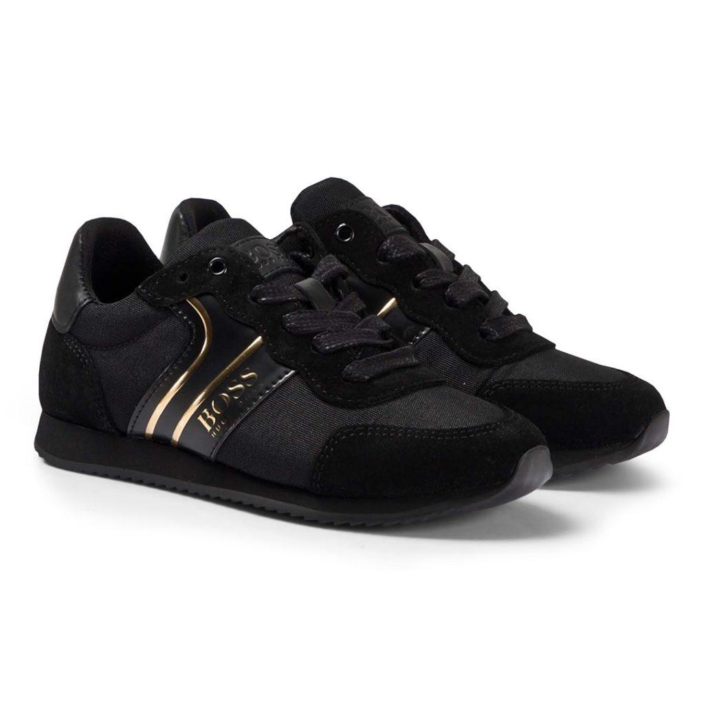 Logo Sneakers svart/guld