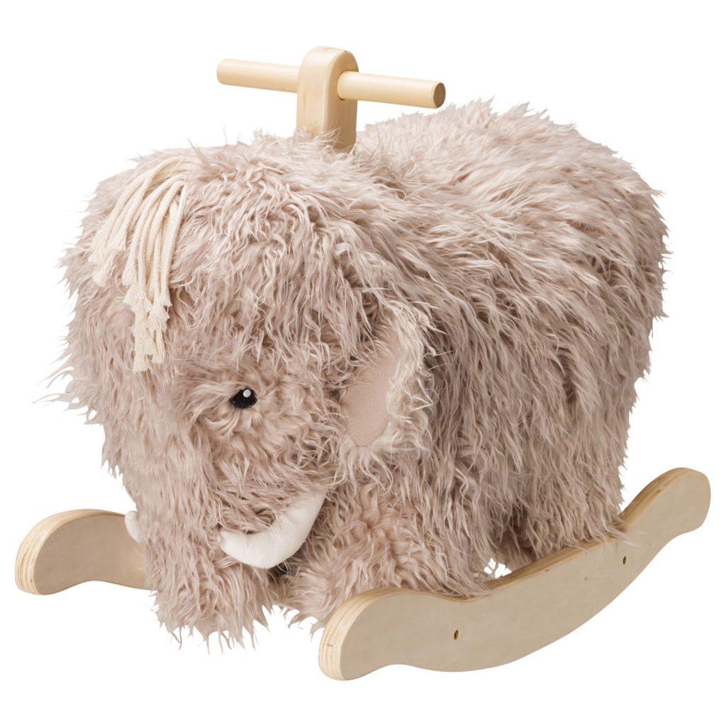 Fluffig gungmammut – gungdjur från Kids Concept