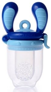 Smaknappen Kidsme Food Feeder i storlek medium