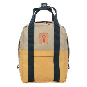 Senapsgul miniryggsäck från det svenska varumärket Oli.