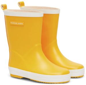 Nordbjørn Whirlwind – gula seglarstövlar för barn